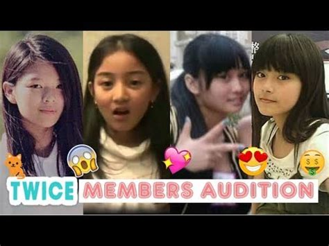 members audition pre debut youtube