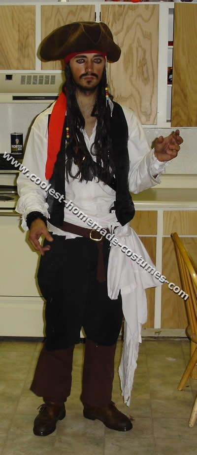 coolest homemade jack sparrow costume ideas