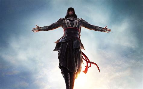 The film is directed by justin kurzel, written by michael lesslie, adam cooper and bill collage, and stars michael fassbender (who also produced), as well as marion cotillard, jeremy irons. Assassins Creed Movie Wallpaper   HD Wallpaper Background