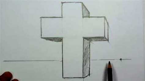 draw   cross   point perspective mat