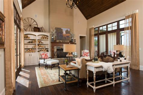 Dillards Southern Living Decorations by 2013 Southern Living Custom Builder Showcase Home Rustic