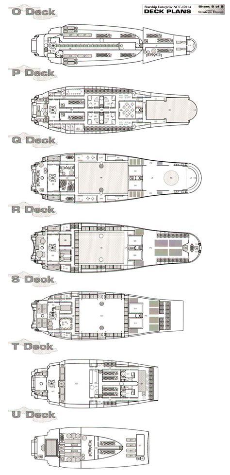starship enterprise deck plans nx 01 blueprints best deck