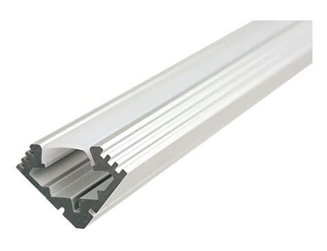 led stripes aussen led alu profil aluprofil schiene aluminium led lichtband aufbau 1m 2m matt ebay