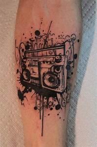boom box tattoo | Wonderful Hobbies Of Mine | Pinterest ...