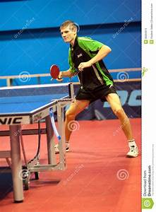 Play Ping Pong Between Men Editorial Stock Photo - Image ...
