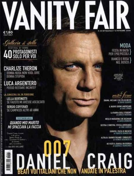 Une Vanité by Photo Daniel Craig En Une De Vanity Fair Italia