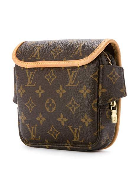 louis vuitton monogram canvas mens womens fanny pack shoulder belt bag  sale  stdibs