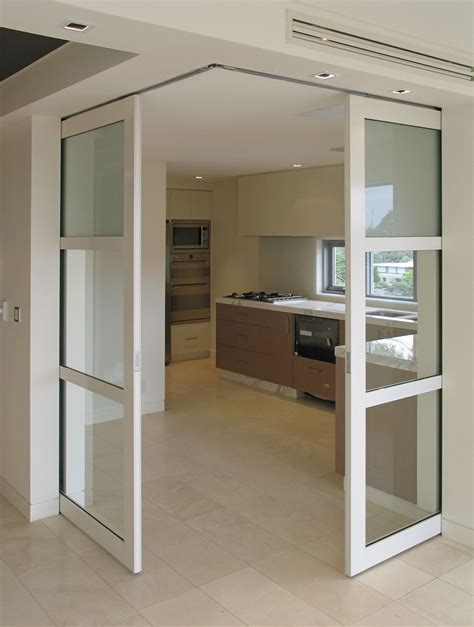 sliding kitchen doors interior height corner meeting cavity sliders pocket door
