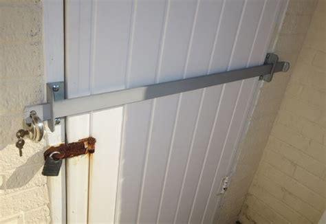 door bar lock door bar drop open bar security door lock brackets fits