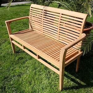 Gartenbank 3 Sitzer : teak 3 sitzer gartenbank alpen alles f r garten und terasse gartenm bel b nke ~ Buech-reservation.com Haus und Dekorationen
