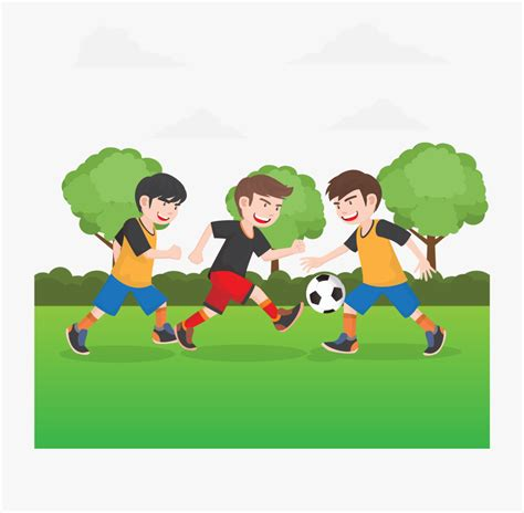Teknik melempar bola basket (passing). 254-2541069_animated-football-gambar-sepak-bola-animasi ...