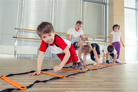 animal walks to help gross motor skills pathways org 716 | happy sporty children in gym