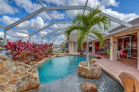 Vacation Rental Cape Coral With Boat by Villa Sun Splash Cape Coral Luxury Rentals Cape Coral