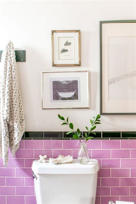 Fliesenlack Pink by 17 Best Ideas About Pink Bathroom Tiles On