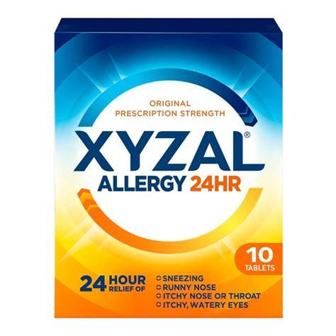Xyzal® 24 Hour Allergy Relief Tablet : Target