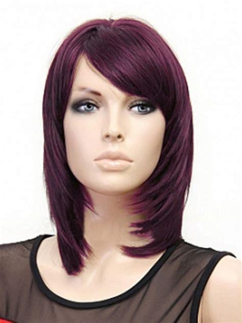 medium length straight layered hairstyles hairstyle