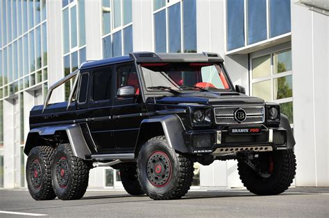 2013 Mercedes-benz G63 Amg 6x6 B63s-700 By Brabus