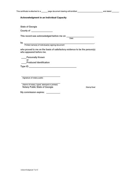 notary form www pixshark images galleries
