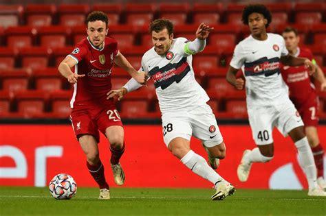 Midtjylland Vs Liverpool : Diogo Jota of Liverpool ...