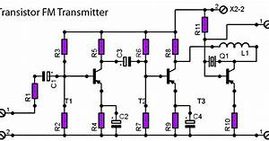 fm radio transmitter schematic with pcb circuit diagram With 15w transmitter fm