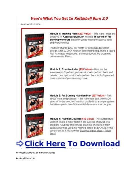 kettlebell burn fat workout calories swings burning geoff neupert many does calorie belly extreme pdf workouts xtreme routine exercises calculator