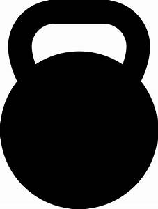 Kettlebell Svg Png Icon Free Download (#265080 ...