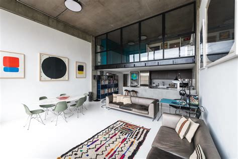 Minimalist Loft With Luxurious Details by Industrial Loft Jazzed Up With Details