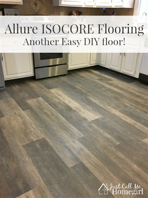 Allure ISOCORE DIY Flooring   Just Call Me Homegirl