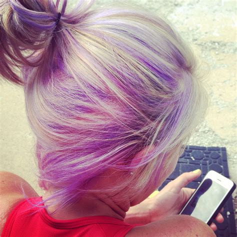 Lavender Purple Light Purple Hair Pastel Purple Hair