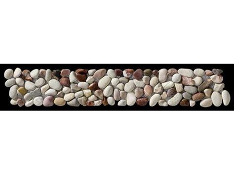carrelage multicolore cuisine paves briques de verres mosaïques et galets livenza