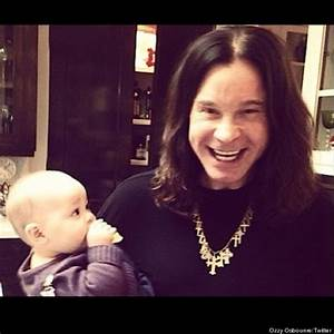 Ozzy Osbourne Posts Adorable Picture With Jack's Daughter ...