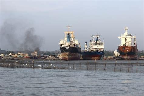 visiting  deadly shipbreaking yards  bangladesh