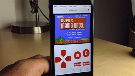 nes emulator iphone webnes runs nes on mobile device browsers free from