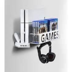 mount ps4 under desk gamespiderswap ps4 wall mount desk organizer