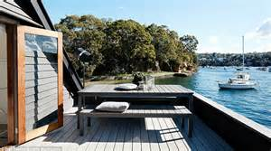 House Boat Sydney by Inside The Two Storey Houseboat With Sydney Harbour Views