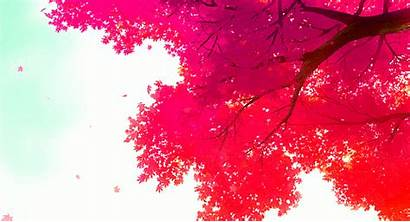 Anime Background Scenery Gifs Animated Autumn Fall