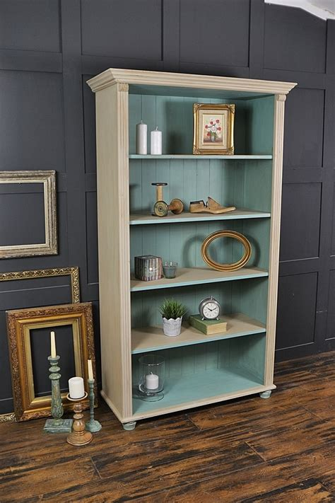Painted Bookcase by 15 Inspirations Of Painted Bookshelf