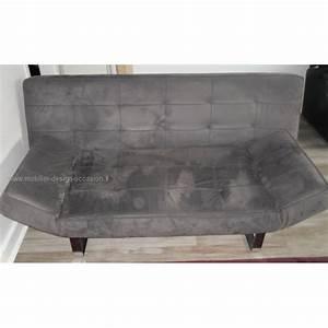 canape 3 places bo concept alcantara gris souris With tapis de souris personnalisé avec canapé 1 place lit
