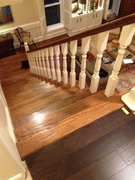 Is it wrong to have different wooden flooring upstairs