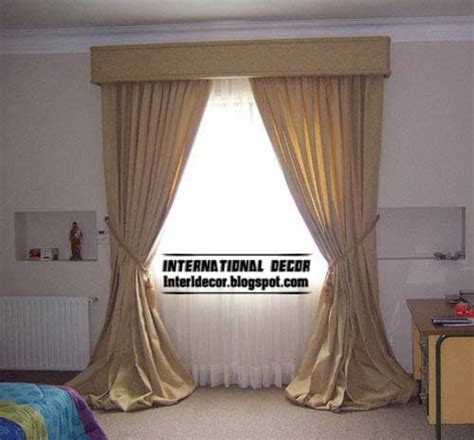 10 classic curtain designs models for bedroom