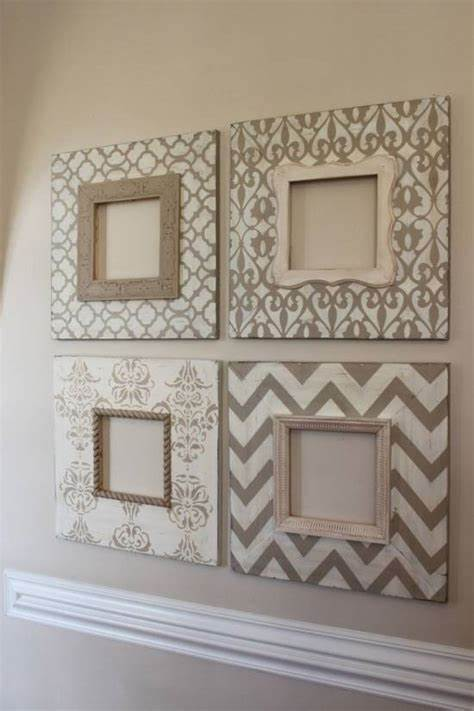 Ideas & inspiration » home decor » 85 creative gallery wall ideas & photos. Use Empty Frames To Decorate Home | Ultimate Home Ideas