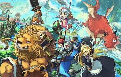 Anime Demon Rpg Fantasy Virtual Mmorpg Reality