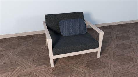 [sketchup] Single Armchairs Sofa Modeling/rendering