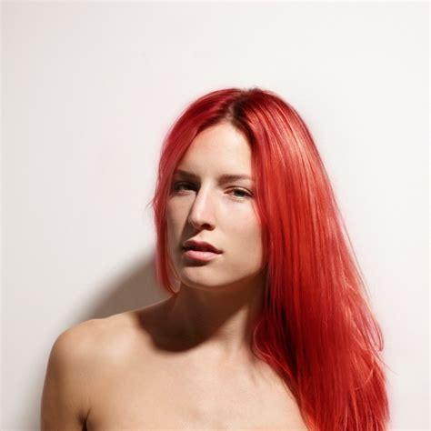 Renbow Crazy Colour Semi Permanent Hair Dye Vermillion Red