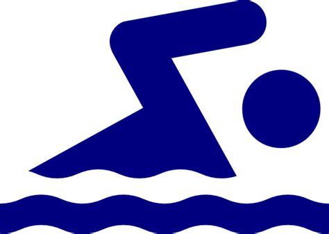 Swimming Clipart Swimmer Logo Clip At Clker Vector Clip