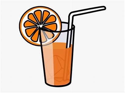 Clip Juice Clipart Lemonade Tea Iced Drink