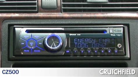 clarion cd car receivers cz300 cz500 crutchfield