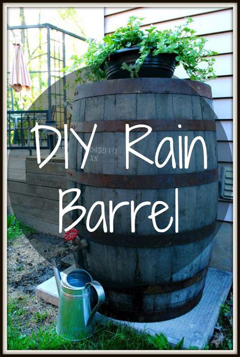 diy ideas    barrels