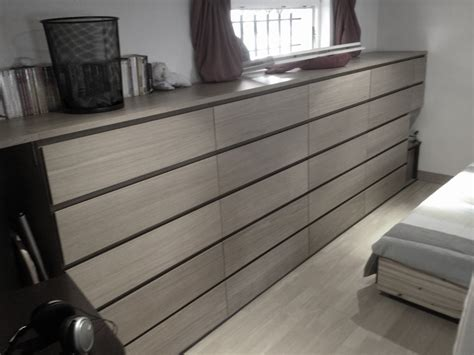 chambre malm un dressing d 39 angle kallax pour la chambre bidouilles ikea