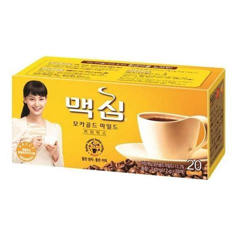 Maxim coffee korea on alibaba.com are from the most reliable brands that use fine cocoa beans sourced from the best regions to make their products. Korean Instant Coffee Mix Maxim Mocha Gold Mild 20 Sticks Korea Food Beverages #Maxim | Instant ...